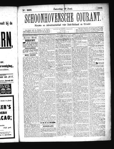Schoonhovensche Courant 1909-06-19