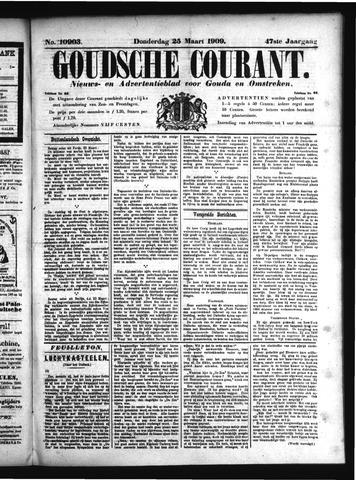 Goudsche Courant 1909-03-25