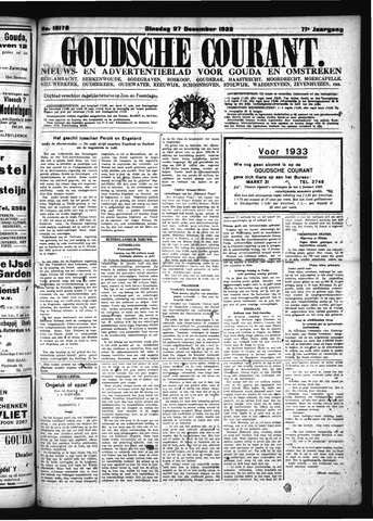 Goudsche Courant 1932-12-27