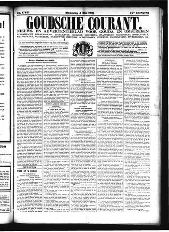 Goudsche Courant 1931-05-04