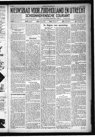 Schoonhovensche Courant 1931-09-28
