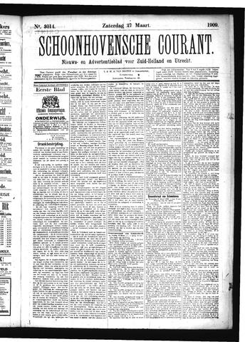 Schoonhovensche Courant 1909-03-27