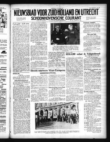 Schoonhovensche Courant 1948-10-06