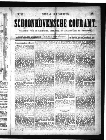 Schoonhovensche Courant 1872-08-11