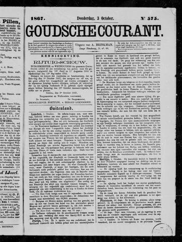 Goudsche Courant 1867-10-03