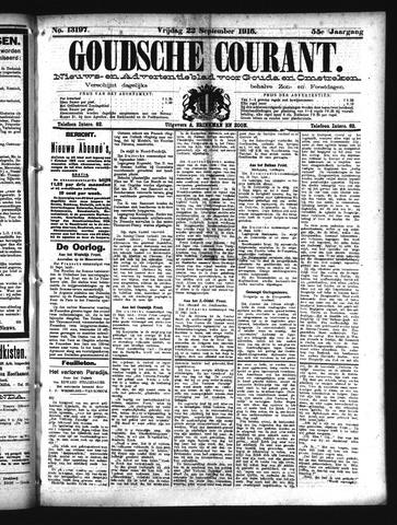 Goudsche Courant 1916-09-22