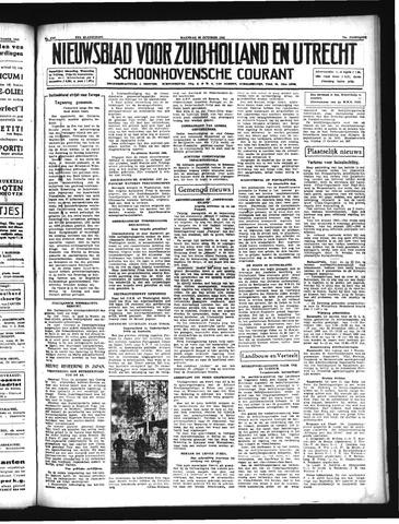 Schoonhovensche Courant 1941-10-20