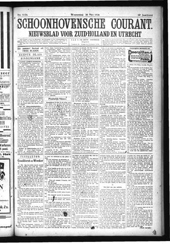 Schoonhovensche Courant 1926-05-26