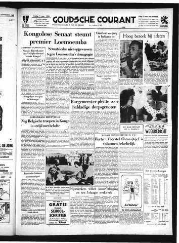 Goudsche Courant 1960-09-09
