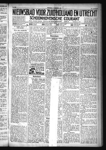 Schoonhovensche Courant 1929-11-13