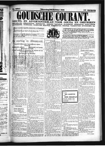 Goudsche Courant 1935-10-28