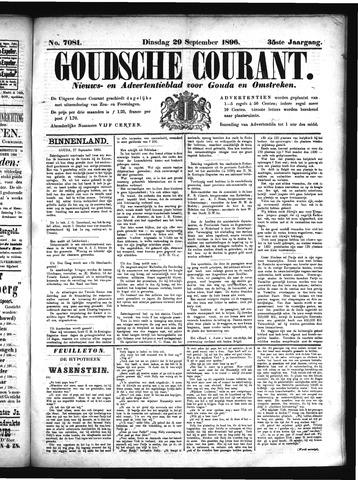 Goudsche Courant 1896-09-29