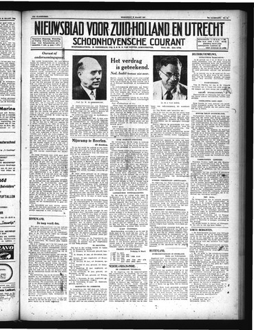 Schoonhovensche Courant 1947-03-26