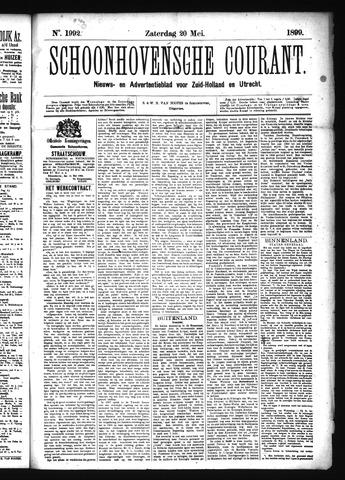 Schoonhovensche Courant 1899-05-20