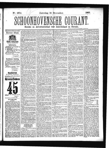 Schoonhovensche Courant 1905-12-16