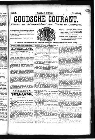 Goudsche Courant 1892-02-08