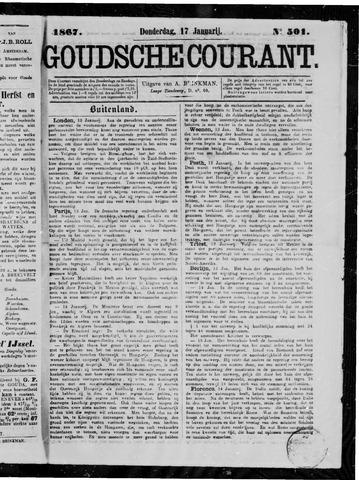 Goudsche Courant 1867-01-17