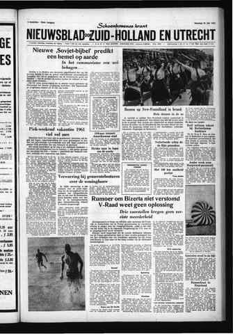 Schoonhovensche Courant 1961-07-31