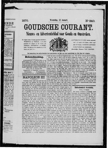 Goudsche Courant 1870-01-12