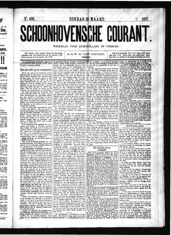 Schoonhovensche Courant 1877-03-25