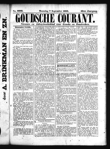 Goudsche Courant 1903-09-07