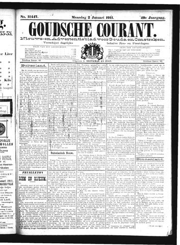 Goudsche Courant 1911-01-02