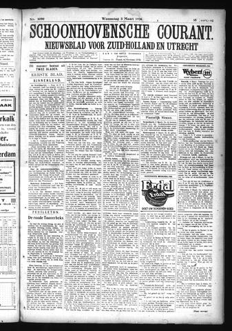 Schoonhovensche Courant 1926-03-03