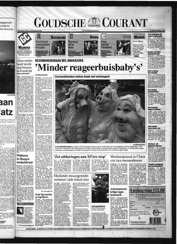 Goudsche Courant 1997-02-10