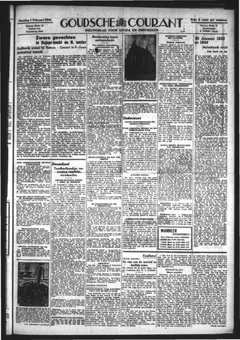 Goudsche Courant 1944-02-01