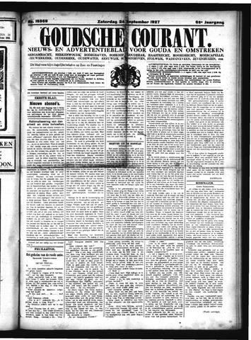 Goudsche Courant 1927-09-24