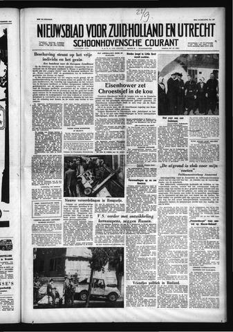 Schoonhovensche Courant 1958-09-22