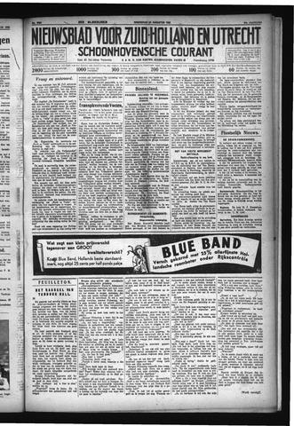 Schoonhovensche Courant 1932-08-24