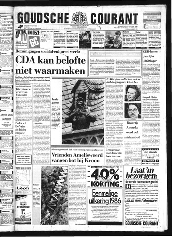 Goudsche Courant 1986-10-29