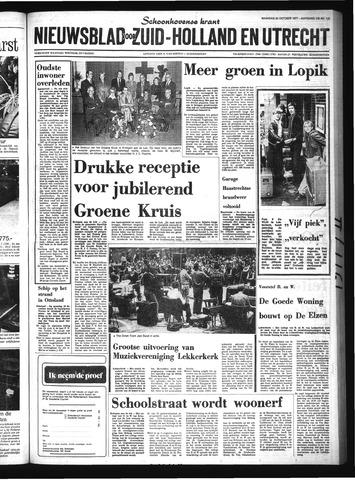 Schoonhovensche Courant 1977-10-24