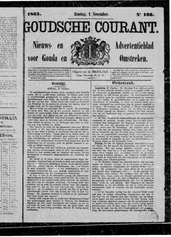 Goudsche Courant 1863-11-01