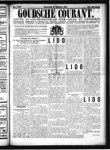 Goudsche Courant 1931-10-19