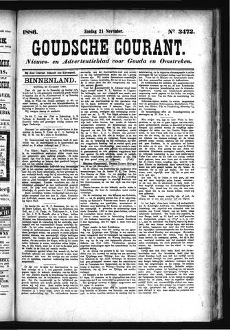 Goudsche Courant 1886-11-21