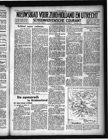 Schoonhovensche Courant 1941-04-25