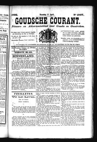 Goudsche Courant 1892-04-11