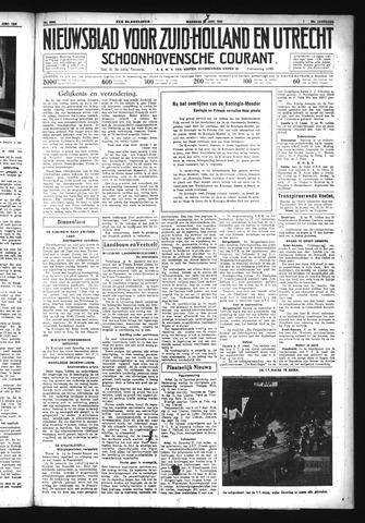 Schoonhovensche Courant 1934-06-25