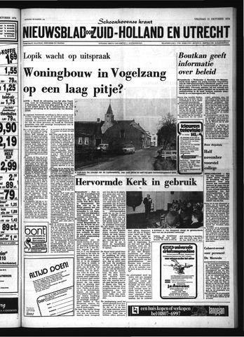 Schoonhovensche Courant 1974-10-11