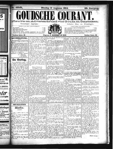 Goudsche Courant 1914-08-11