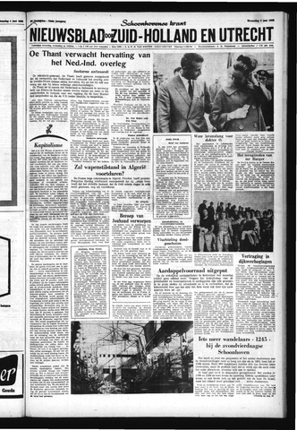 Schoonhovensche Courant 1962-06-06