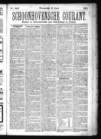 Schoonhovensche Courant 1911-06-21