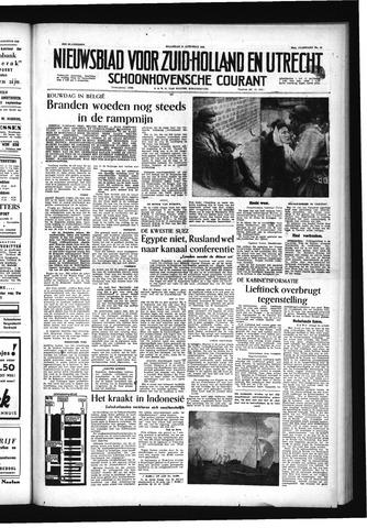 Schoonhovensche Courant 1956-08-13