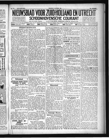 Schoonhovensche Courant 1936-10-26