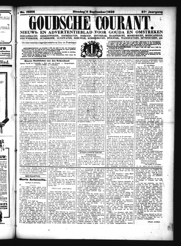 Goudsche Courant 1928-09-11