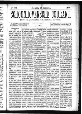 Schoonhovensche Courant 1893-08-12