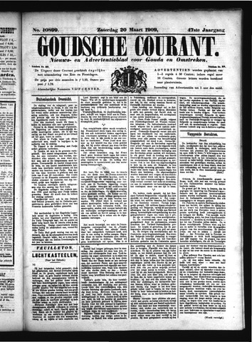 Goudsche Courant 1909-03-20