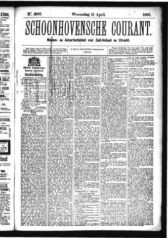 Schoonhovensche Courant 1900-04-11